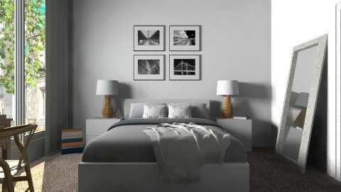 Bdr - Modern - Bedroom  - by Thrud45