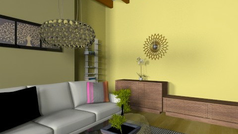 DWRLineLR - Eclectic - Office  - by evakarwowska