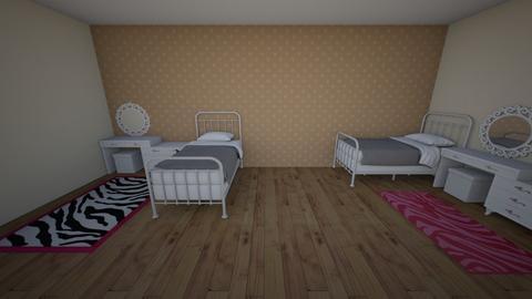 asymmetrical pink room - by mirandagall