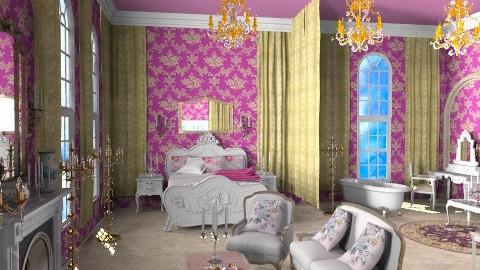 Anastasia's Bedroom - Classic - Bedroom  - by Bibiche