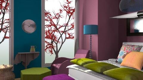 mashup - Retro - Bedroom  - by decorj