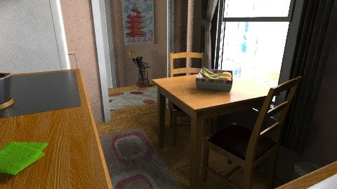 flat 9 - Rustic - Kitchen  - by sally89
