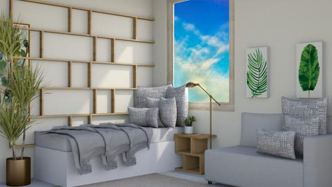 extra space - Modern - Bedroom  - by NEVERQUITDESIGNIT