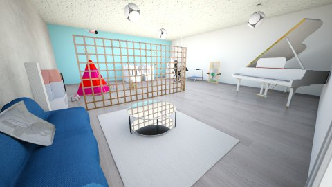 Playful Room - by Lanaa