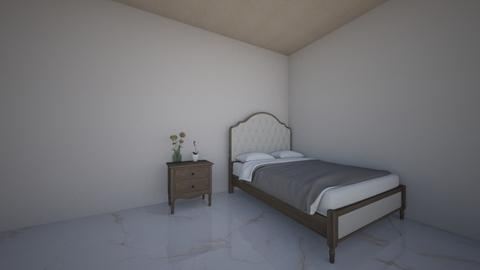 Josslyn Clinton Bedroom - Minimal - Bedroom  - by 22efranz