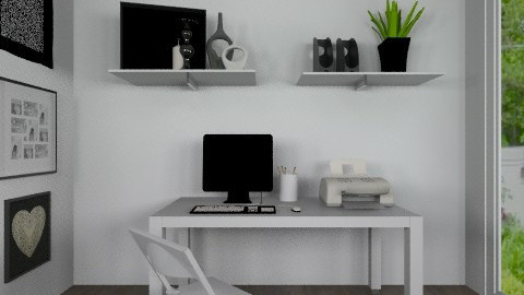 Officeeeee - Eclectic - Office - by ajkaredzepagic