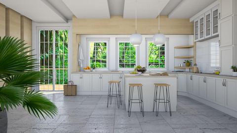 Fresh - Modern - Kitchen  - by millerfam
