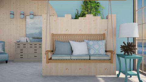 Seaside - Living room - by sissybee