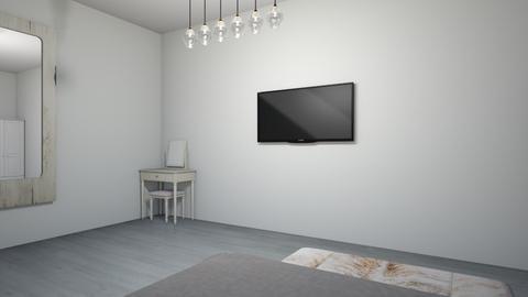 modernroom - Bedroom  - by itsxnono