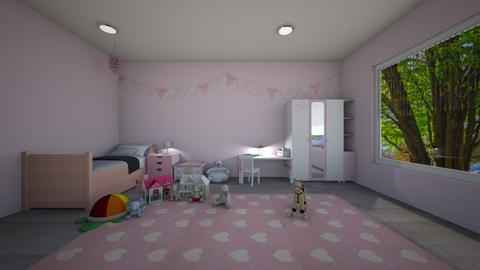 Kids bedroom - Bedroom  - by Idkwhy