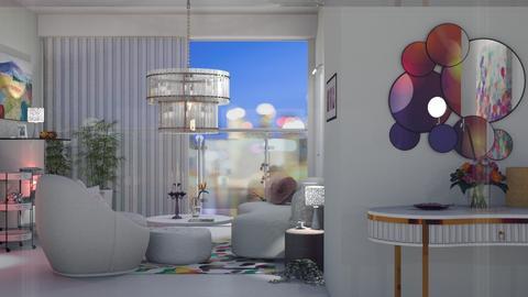 blurry - Living room  - by nat mi