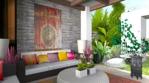 outdoor room2 - Global - Garden  - by Alison Hayes