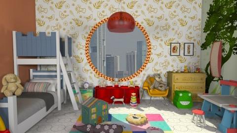 dream study plaaayy - Modern - Kids room  - by Veny Mully