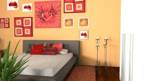 MiaSpicy2 - Eclectic - Bedroom  - by mia1968