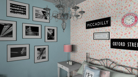 Blue Bedroom_CWIN - Vintage - Bedroom  - by TV Renders