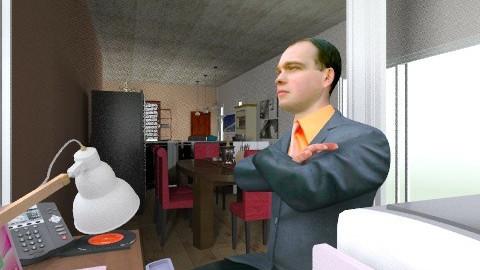 office3 - Eclectic - Office  - by izarochaa