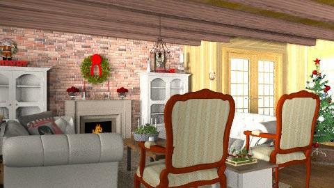 cabin christmas - Rustic - by mywishlr