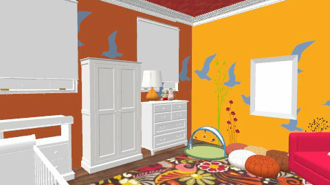 Baby Girl's Bright Nursery - Eclectic - Kids room  - by fancyfrills