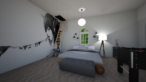 Teenage bedroom - Feminine - Bedroom - by Complete_Cookie