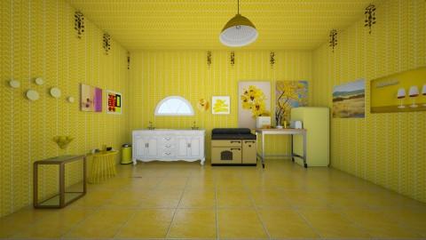 Mello Yellow - Classic - Kitchen  - by InteriorDesigner111