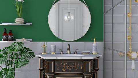 Eclectic bathroom - Bathroom - by Laurika