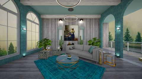 t and m living - Living room - by nasiha