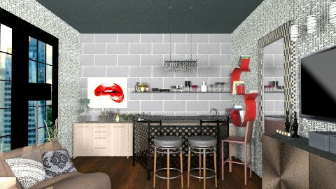 53435 - Eclectic - Kitchen  - by celavia