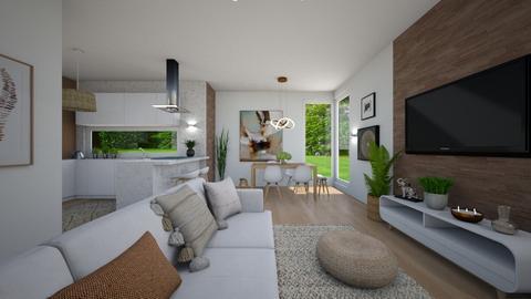 Boho living - Living room  - by evelyn19