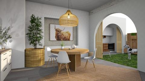 Happy Cow - Dining room  - by alvo