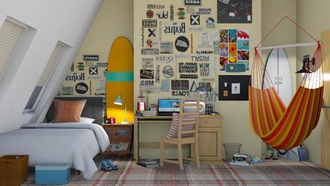 bts - Bedroom  - by zozan