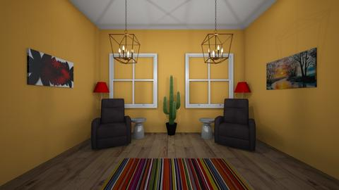 Challenge 5 - Living room  - by Augustr03