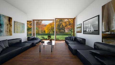 Living Room 2 - Minimal - Living room  - by camilla_saurus
