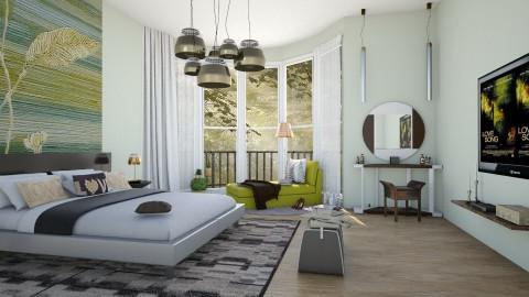 M_Leaf  - Bedroom  - by milyca8