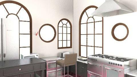 dining room - Retro - Kitchen  - by sljubchenko