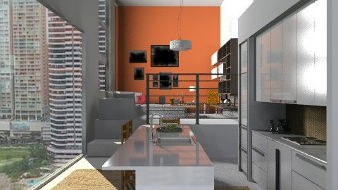 small apartment - Modern - Living room  - by sahfs