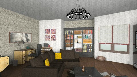 Man Cave - Modern - Office  - by chloedaniella