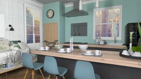 Family kitchen 2 - Kitchen  - by neta1