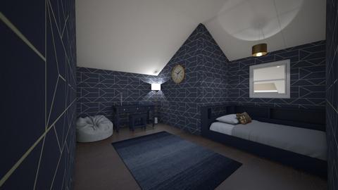 Attic bed - Bedroom  - by ArtsyGirl4Eva