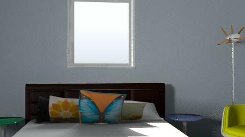 side - Retro - Living room  - by popdesigner