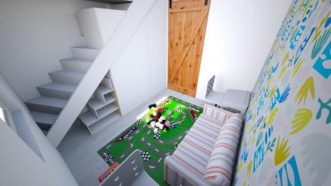 First kids room_down - Modern - Kids room  - by moonchild665