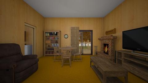 Rustic LR - Living room  - by WestVirginiaRebel