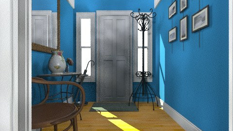 Entryway After - Eclectic - by Sharon Barnes