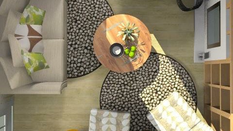 RR21 - natural - Rustic - Living room - by ovchicha