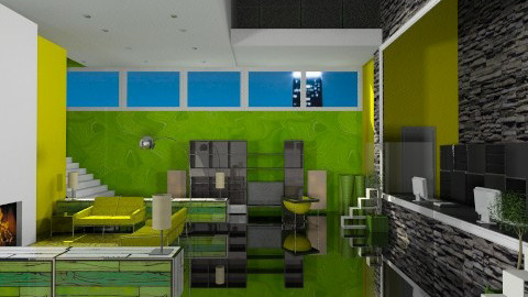 The Green Hotel - Modern - by Musicman