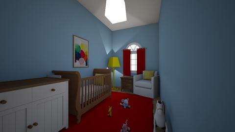 Triadic Nursery - Kids room  - by 21amoorer
