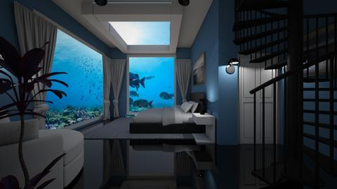 Room with a View - Bedroom  - by Tzed Design