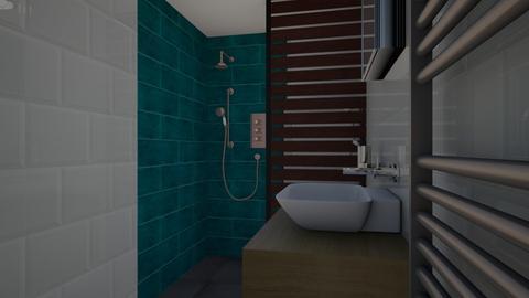 badkamer ontwerp 1 - Bathroom - by thomvanmaastrigt