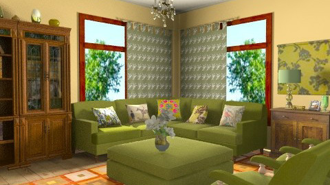 Olive - Classic - Living room  - by milyca8