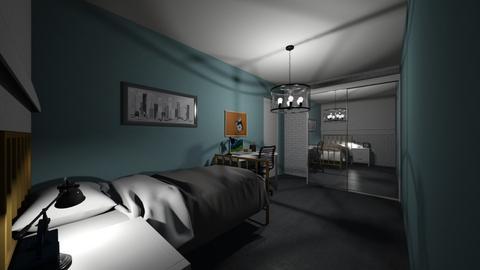 Simple bedroom  - Bedroom  - by Noa Jones