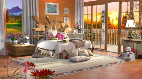 flower power - Kids room  - by anchajaya